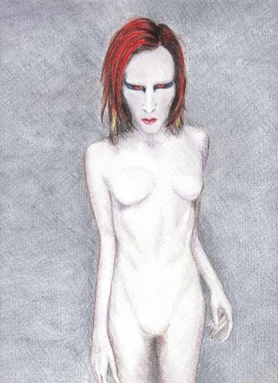 Marilyn Manson par Rhodesia